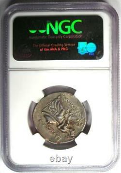 Thrace Lysimachus Ar Tetradrachm Lysimachos Coin 305-281 Bc Ngc Choice Xf