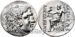 Thrace Odessus Ar Tetradrachm 125-70 Bc Ngc Ch Au 5/4 Alexandre III Lumineux Coin