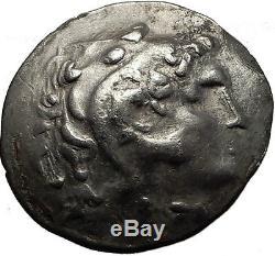 Thrace Roi Kavaros Argent Grec Tetradrachm Coin Alexander III Le Grand I60677