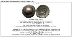 Tribu Celtique Danube Pièce De Monnaie Grecque De Style Tétradrachme D'argent Représentant Philip III I51205